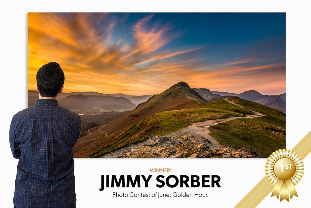 golden hour photo contest winner Jimmy Sorber