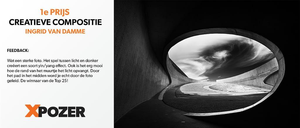 Fotowedstrijd Creatieve Compositie winnaar Ingrid van Damme
