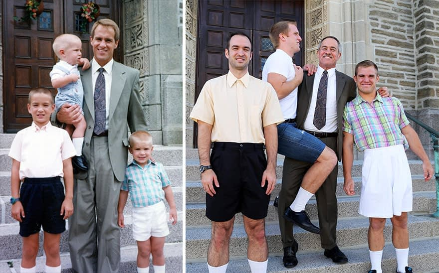 This is How You Make Original Family Portraits