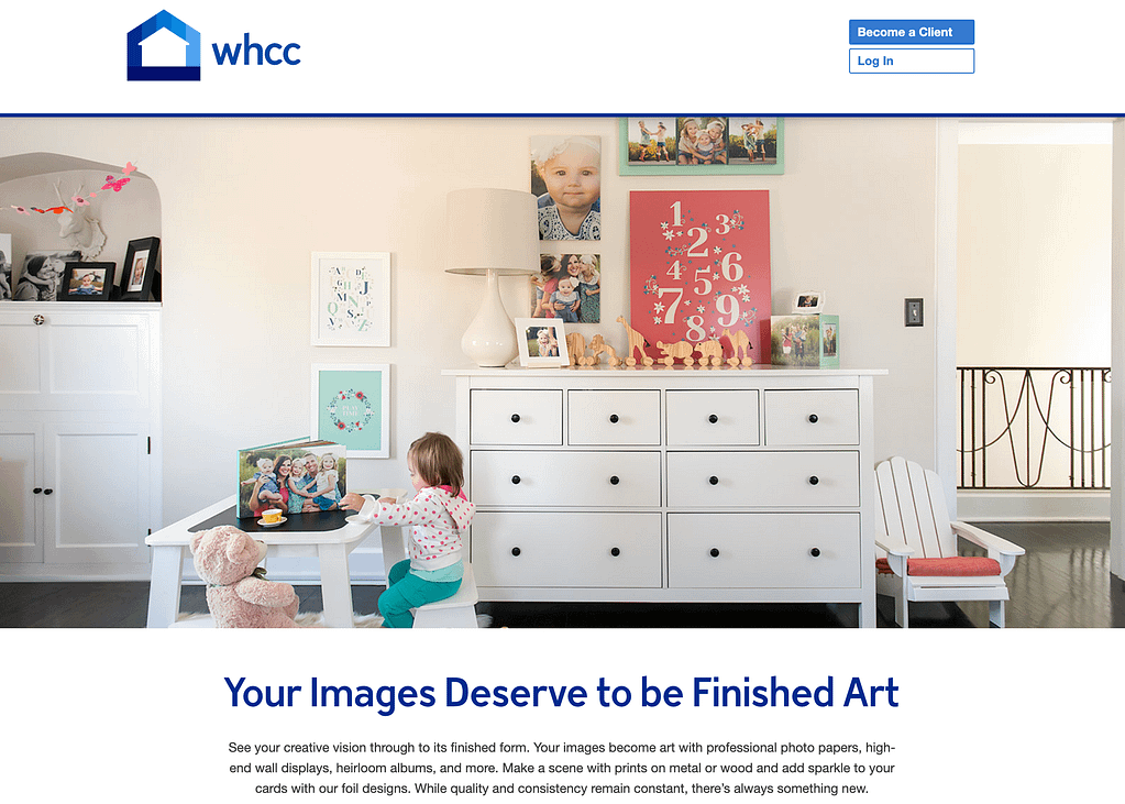 WHCC is number 8 in our test for the best printing service 2019. WHCC photo lab has many reviews of their print products. Also discount up to 15% can be found on the internet.