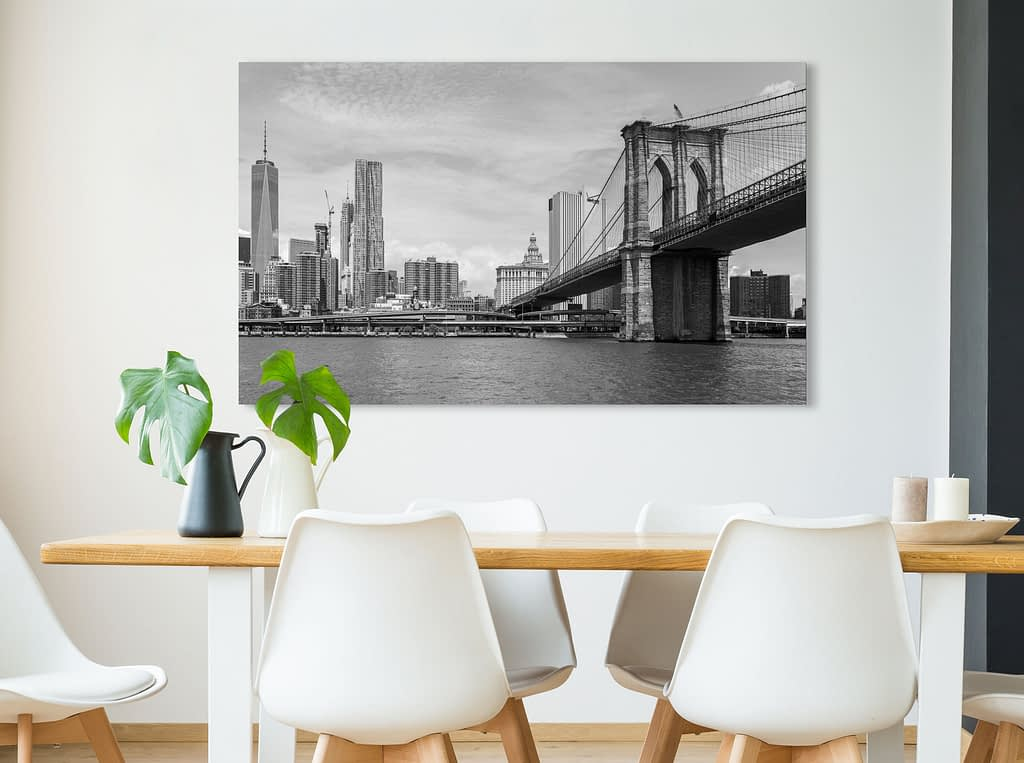 Your Photo as wall decor in your interior for the best photo printing service.