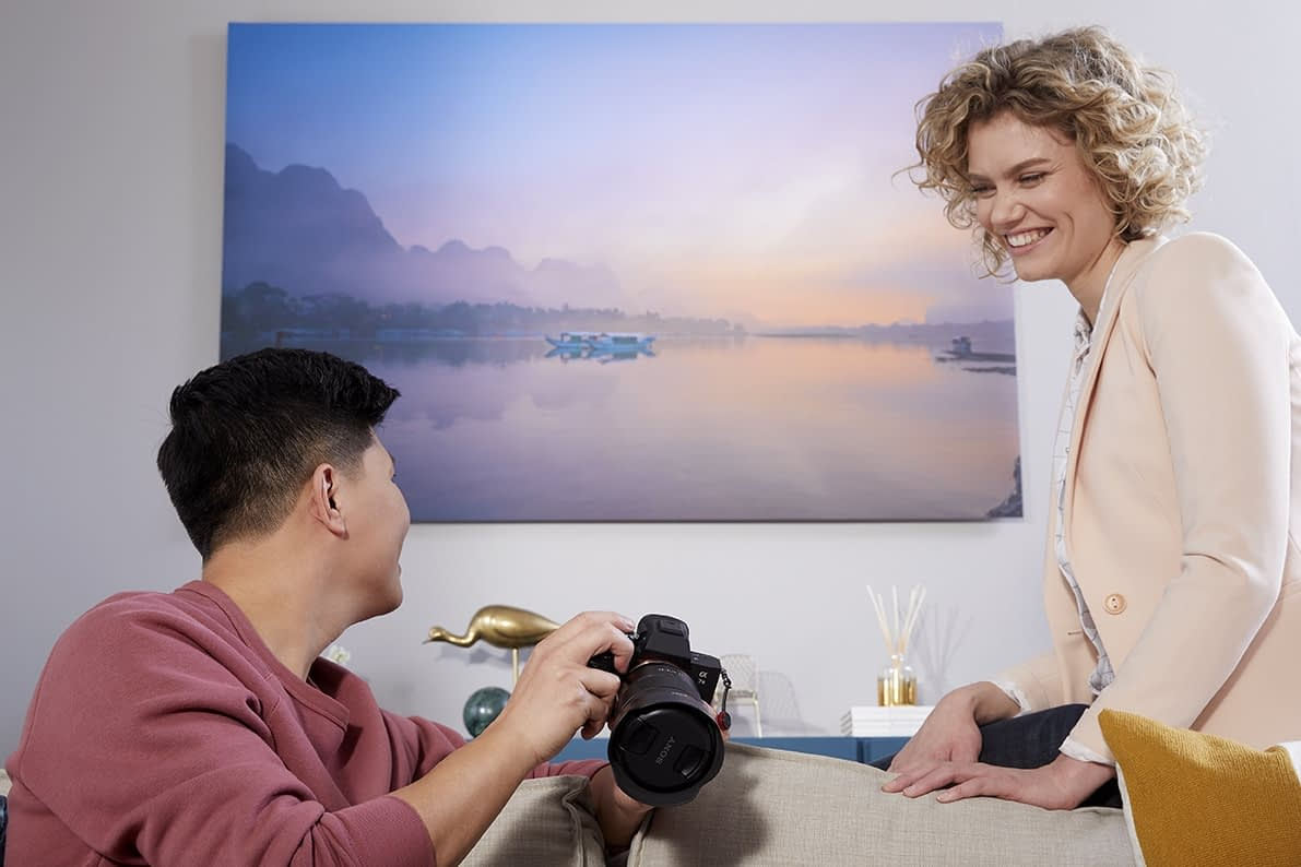 fotovergroting voor professionele fotograaf