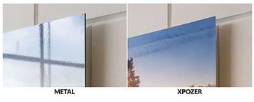 foto op aluminium vergelijken met xpozer print