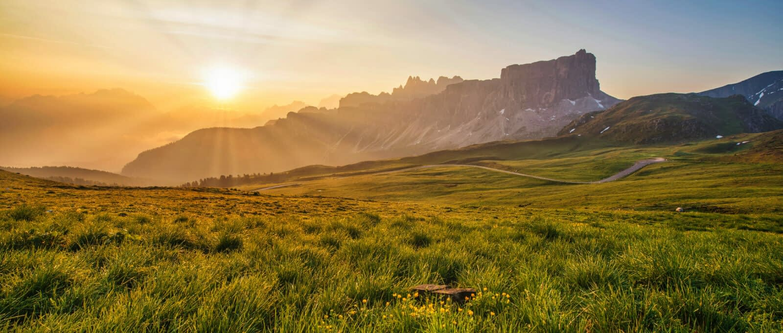 landscape sun