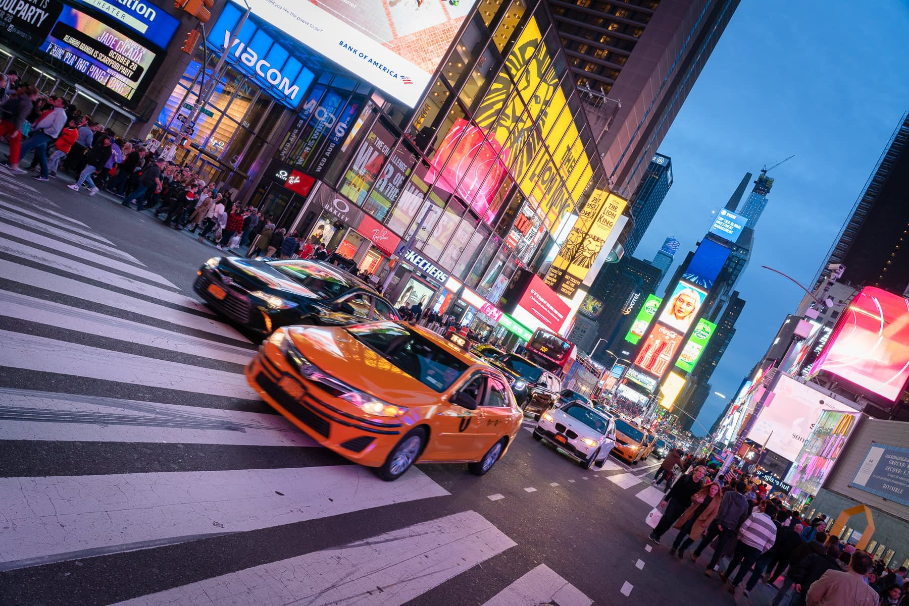 Times Square as shot by Xpozer Founder Clemens